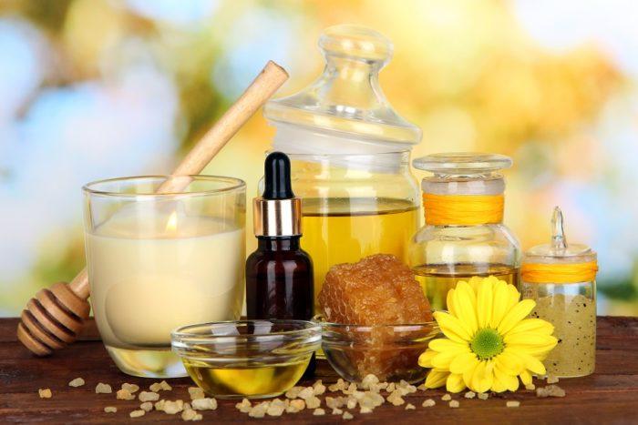Набор масел и натуральных косметических добавок к ним